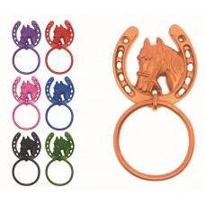 PERRY SAFETIE HORSESHOE TIE RING