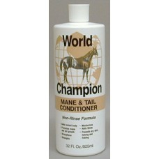 WORLD CHAMPION MANE & TAIL CONDITIONER, NON-RINSE, 946 ML