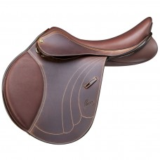 PESSOA TOMBOY II SADDLE, GRAINED PULL UP LEATHER, OAKBARK