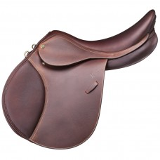 PESSOA GEN-X VALENTINO SADDLE, GRAINED WAXY LEATHER, OAKBARK