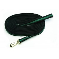 CAVALIER CUSHIONED 24 ft WEB LUNGE LINE with SNAP