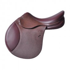 TEKNA SMOOTH SEAT JUMPING SADDLE, MEDIUM, MEDIUM WIDEOR WIDE