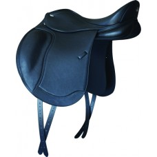 LETEK LEATHER/SYNTETIC DRESSAGE SADDLE