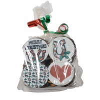 STUD MUFFINS CHRISTMAS IMAGE MUFFIN TOPS, 4-PACK, 4 OZ