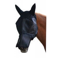 ULTRASHIELD FLY MASK WITH REMOVABLE NOSE - WITH EARS