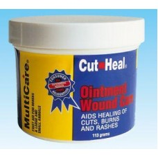 CUT HEAL MULTICARE OINTMENT JAR, 113 GM