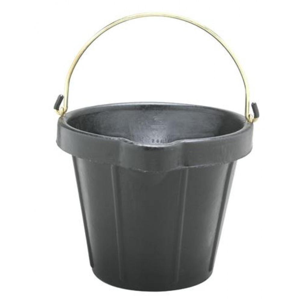 Fortex Heavy Duty Rubber Pail With Brass Fittings And