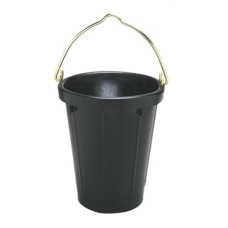 FORTEX HEAVY DUTY RUBBER TANKER PAIL WITH BRASS FITTINGS 9.46 LITRE