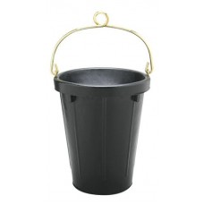 FORTEX HEAVY DUTY RUBBER TANKER PAIL WITH BRASS FITTINGS AND LOOP 9.46 LITRE