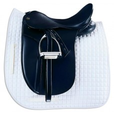 CENTURY CONTOUR DRESSAGE EXTRA DEEP CUT PAD,27 in x 25 in