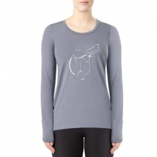 IRIDEON LADIES MY SANCTUARY LONG SLEEVE SWING TEE