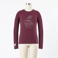 IRIDEON CHILD'S APPLE A DAY LONG SLEEVE TEE