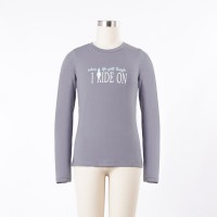 IRIDEON CHILD'S WHEN LIFE GETS TOUGH LONG SLEEVE TEE