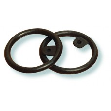 SAFETY RINGS FOR PEACOCK IRONS, BLACK