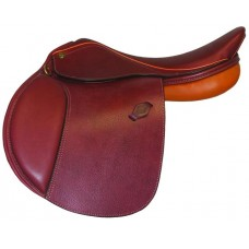 HDR PONY SADDLE, PRINTED OAKBARK