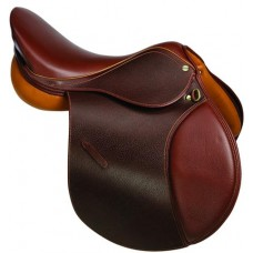 HDR ADVANTAGE ALL PURPOSE SOFT FLAP SADDLE, PRINTED OAKBARK