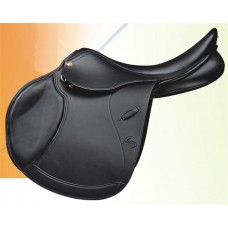 PESSOA LEGACY EVENT SADDLE, GRAINED DARK BROWN