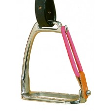 CAVALIER 4 INCH PEACOCK SAFETY STIRRUPS