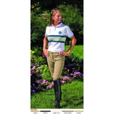TUFFRIDER COTTON LOW RISE PULL-ON KNEE PATCH BREECH, REGULAR