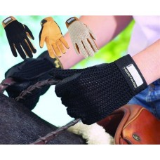 HERITAGE YOUTH CROCHET RIDING GLOVE