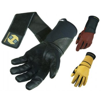 HERITAGE ADULT PRO 8.0 BULL RIDING GLOVE, LEFT OR RIGHT