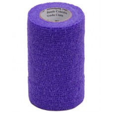 3M VETRAP BANDAGE, 4 INCH X 5 YARDS, PURPLE