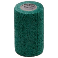 3M VETRAP BANDAGE, 4 INCH X 5 YARDS, HUNTER GREEN
