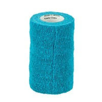 3M VETRAP BANDAGE, 4 INCH X 5 YARDS, TEAL