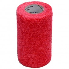 3M VET WRAP BANDAGE BULK PACK, 100 ROLLS PER CASE, RED