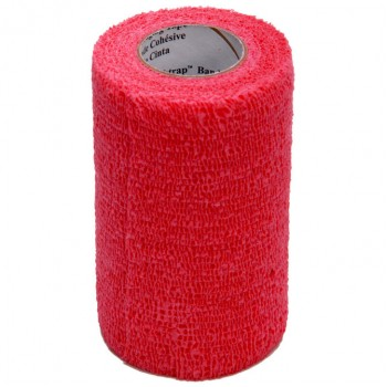 3M VET WRAP BANDAGE BULK PACK, 100 ROLLS PER CASE, RED