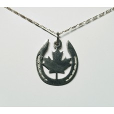 "UNIQUELY EQUINE ""OH CANADA"" NECKLACE"