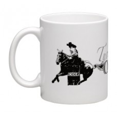 COSTA CLASSICS 11 OZ MUG, TURN & BURN COWGIRL