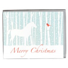 COSTA CLASSICS BOX NOTE CARD, CHRISTMAS CARDINAL