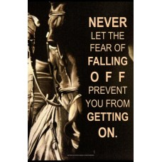 COSTA CLASSICS 11X17 MAGNETIC POSTER, NEVER FEAR
