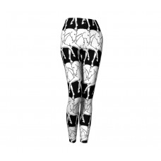 COSTA CLASSICS LEGGINGS, WRAP AROUND HORSES