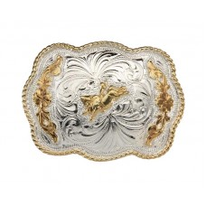 CHILDS SCALLOPED BULL RIDER BUCKLE