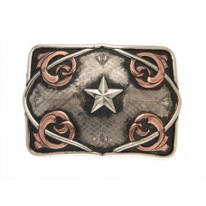 HAND CRAFTED COYOTE BUCKLE