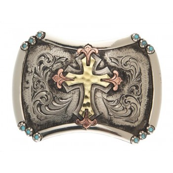 HAND CRAFTED CORTEZ BUCKLE