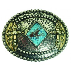 AMISTAD VINTAGE HAND CRAFTED  BUCKLE