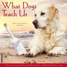 2018 WHAT DOGS TEACH US CALENDAR
