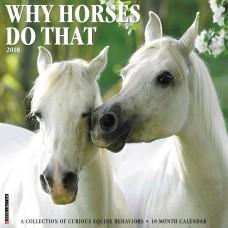 2018 WHY HORSES DO THAT CALENDAR