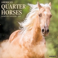 2019 AMERICAN QUARTER HORSES CALENDAR