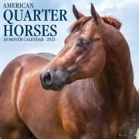 2021 AMERICAN QUARTER HORSES CALENDAR