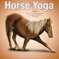 2021 HORSE YOGA CALENDAR