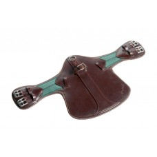 AMERIGO EVENT STUD PROTECTOR GIRTH, LEATHER