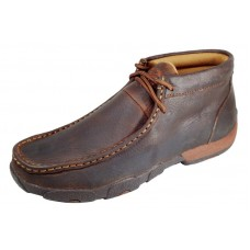 TWISTED X LADIES DRIVING MOC, D TOE, COPPER