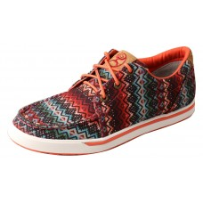 TWISTED X LADIES HOOEY LOPER, D TOE, AZTEC PRINT